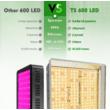 Mars Hydro TS 600 növénynevelő és -termesztő LED lámpa (100W)