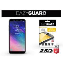 Samsung A605 Galaxy A6 Plus (2018) gyémántüveg képernyővédő fólia - Diamond Glass 2.5D Fullcover - fekete