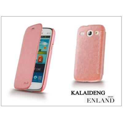 Samsung i8260 Galaxy Core flipes tok - Kalaideng Enland Series - pink
