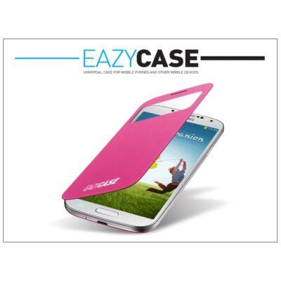 Samsung i9500 Galaxy S4 S View Cover flipes hátlap on/off funkcióval - EF-CI950BPEGWW utángyártott - pink