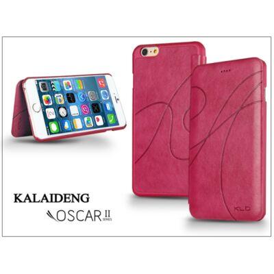 Apple iPhone 6 Plus flipes tok - Kalaideng Oscar 2 Series - dark pink