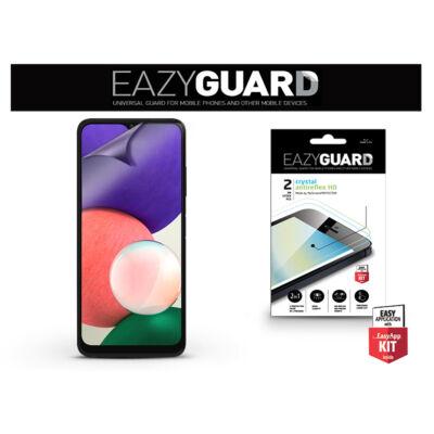 Samsung A226B Galaxy A22 5G képernyővédő fólia - 2 db/csomag (Crystal/Antireflex HD)