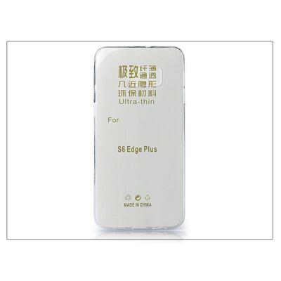 Samsung SM-G928 Galaxy S6 Edge+ szilikon hátlap - Ultra Slim 0,3 mm - transparent