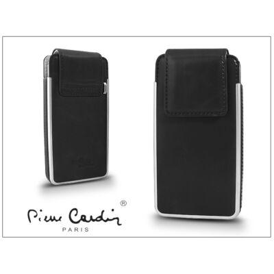 Pierre Cardin valódi bőrtok - Apple iPhone 4/4S - Type-5 - fekete