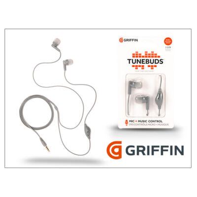 Griffin univerzális sztereó fülhallgató - 3,5 mm jack - Griffin Tunebuds - szürke