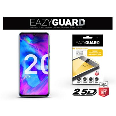 Huawei/Honor 20 Lite gyémántüveg képernyővédő fólia - Diamond Glass 2.5D Fullcover - fekete