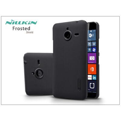 Microsoft Lumia 640 XL hátlap képernyővédő fóliával - Nillkin Frosted Shield - fekete