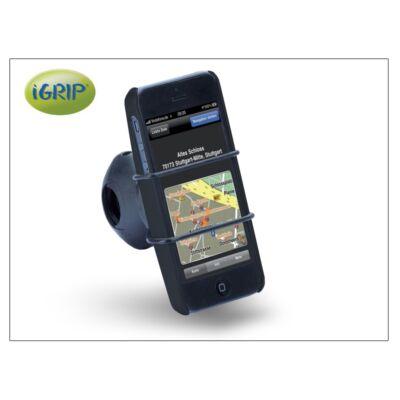 Apple iPhone 5/5S/SE kerékpárra szerelhető telefontartó - iGrip Biker Kit - black