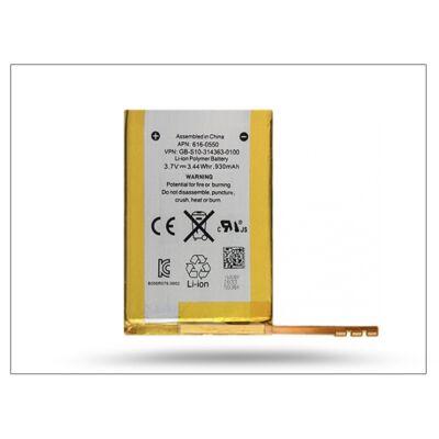Apple iPod Touch 4 gyári akkumulátor - 616-0553/616-0550 - Li-ion 930 mAh (csomagolás nélküli)