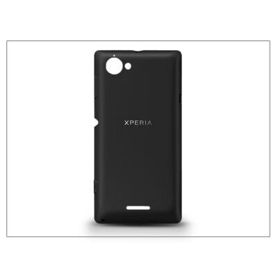 Sony Xperia L (C2105) gyári akkufedél - fekete