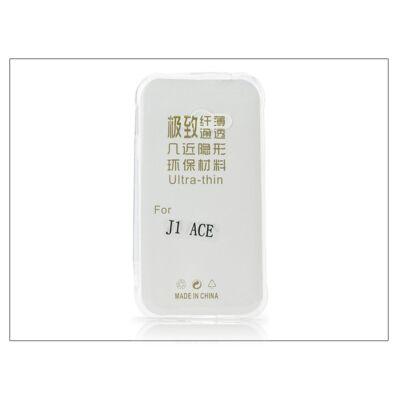 Samsung J110 Galaxy J1 Ace szilikon hátlap - Ultra Slim 0,3 mm - transparent