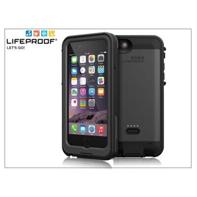 Apple iPhone 6 víz- por- és ütésálló védőtok/hátlapos akkumulátor - Lifeproof Fré Power Case - 2600 mAh - black