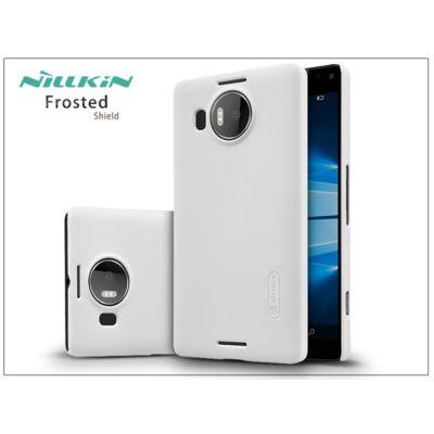 Microsoft Lumia 950 XL hátlap képernyővédő fóliával - Nillkin Frosted Shield - fehér