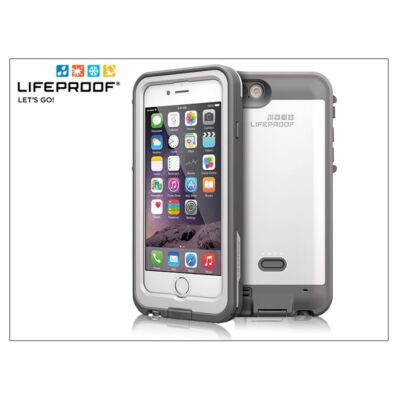 Apple iPhone 6 víz- por- és ütésálló védőtok/hátlapos akkumulátor - Lifeproof Fré Power Case - 2600 mAh - glacier