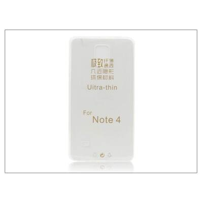 Samsung SM-N910 Galaxy Note 4 szilikon hátlap - Ultra Slim 0,3 mm - transparent