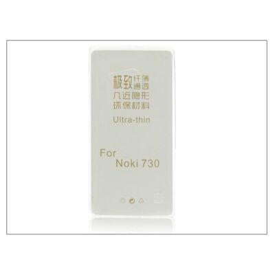 Nokia Lumia 730/735 szilikon hátlap - Ultra Slim 0,3 mm - transparent