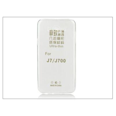 Samsung SM-J700 Galaxy J7 szilikon hátlap - Ultra Slim 0,3 mm - transparent