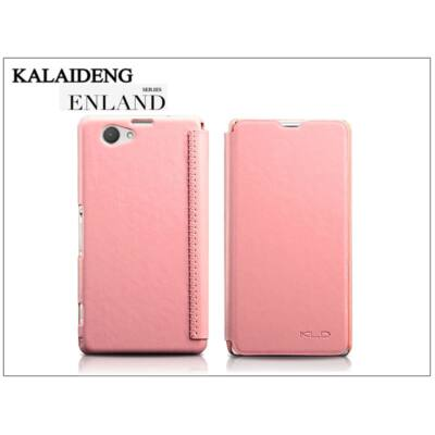Sony Xperia Z1 Compact (D5503) flipes tok - Kalaideng Enland Series - pink