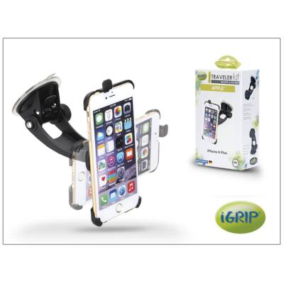 Apple iPhone 6 Plus autós telefontartó - iGrip Traveler Kit - black