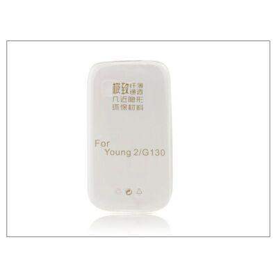 Samsung SM-G130 Galaxy Young 2 szilikon hátlap - Ultra Slim 0,3 mm - transparent