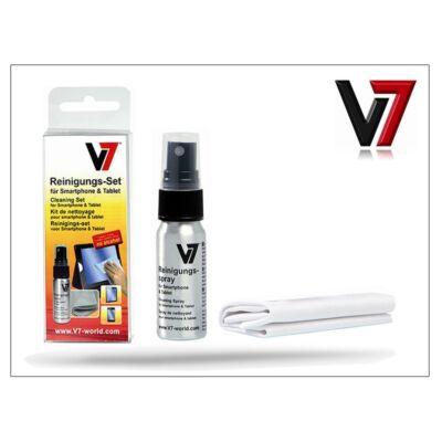 Smartphone/Tablet képernyő tisztító spray + mikroszálas törlőkendő