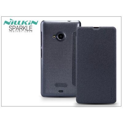 Microsoft Lumia 535 oldalra nyíló flipes tok - Nillkin Sparkle - fekete