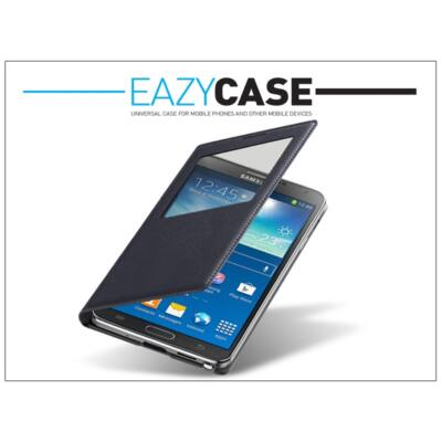 Samsung N9000 Galaxy Note 3 S View Cover flipes hátlap - EF-CN900BBEGWW utángyártott - black