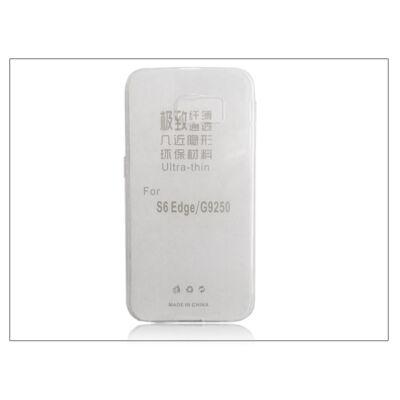 Samsung SM-G925 Galaxy S6 Edge szilikon hátlap - Ultra Slim 0,3 mm - transparent