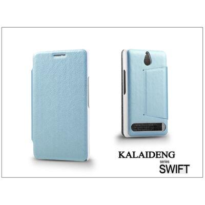 Sony Xperia E1 (D2005) flipes tok - Kalaideng Swift Series - turquoise blue