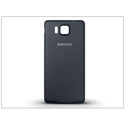 Samsung SM-G850 Galaxy Alpha gyári akkufedél - fekete