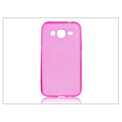 Samsung SM-G360F Galaxy Core Prime szilikon hátlap - Ultra Slim 0,3 mm - pink