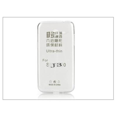 Samsung SM-J300 Galaxy J3 szilikon hátlap - Ultra Slim 0,3 mm - transparent