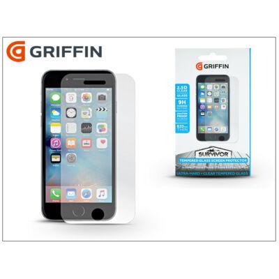 Apple iPhone 6 Plus/6S Plus/7 Plus üveg képernyővédő fólia - Griffin Survivor Tempered Glass - Clear - 1 db/csomag