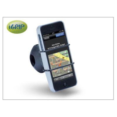 Apple iPhone 5/5S/SE kerékpárra szerelhető telefontartó - iGrip Biker Kit - white
