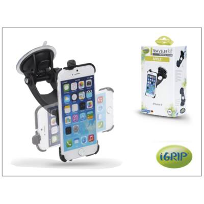 Apple iPhone 6 autós telefontartó - iGrip Traveler Kit - black
