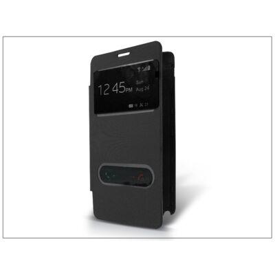 Samsung SM-N910 Galaxy Note 4 S-View flipes tok - fekete