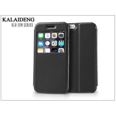 Apple iPhone 6 flipes tok - Kalaideng Sun Series View Cover - black