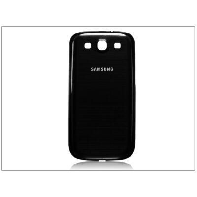 Samsung i9300 Galaxy S III gyári akkufedél - fekete