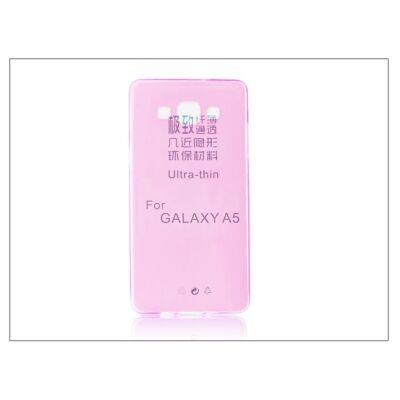 Samsung SM-A500 Galaxy A5 szilikon hátlap - Ultra Slim 0,3 mm - pink
