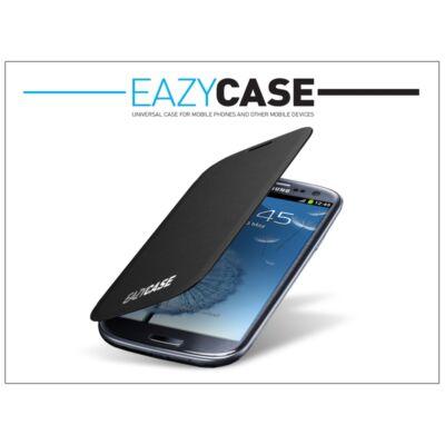 Samsung i9300 Galaxy S III flipes hátlap - EFC-1G6FSECSTD utángyártott - black