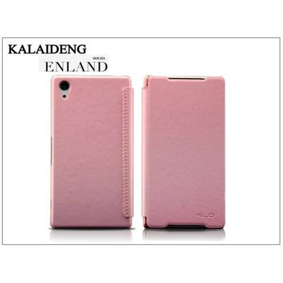 Sony Xperia Z2 (D6503) flipes tok - Kalaideng Enland Series - pink