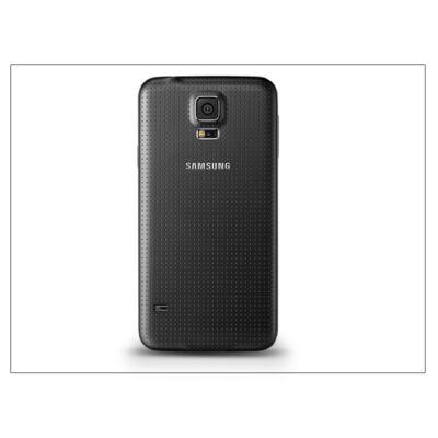 Samsung SM-G900 Galaxy S5 gyári akkufedél - fekete