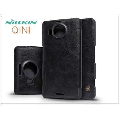Microsoft Lumia 950 XL oldalra nyíló flipes tok - Nillkin Qin - fekete