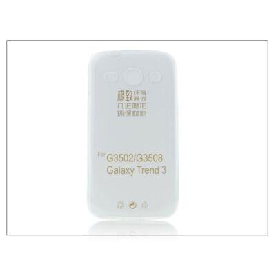 Samsung G3500 Galaxy Core Plus szilikon hátlap - Ultra Slim 0,3 mm - transparent