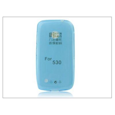 Nokia Lumia 530 szilikon hátlap - Ultra Slim 0,3 mm - kék