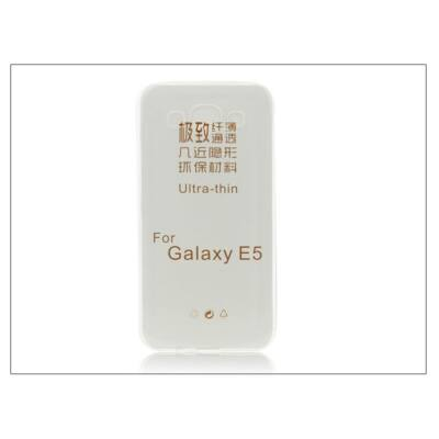 Samsung SM-E500F Galaxy E5 szilikon hátlap - Ultra Slim 0,3 mm - transparent