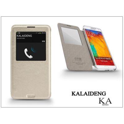 Samsung N9000 Galaxy Note 3 flipes tok - Kalaideng Ka View Series - white