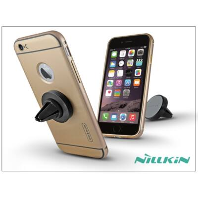 Apple iPhone 6/6S hátlap szellőzőrácsba illeszthető mágneses autós tartóval - Nillkin Car Holder - golden
