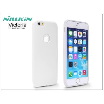 Apple iPhone 6/6S bőr hátlap - Nillkin Victoria - fehér