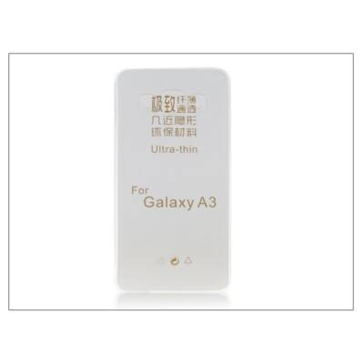 Samsung SM-A300 Galaxy A3 szilikon hátlap - Ultra Slim 0,3 mm - transparent